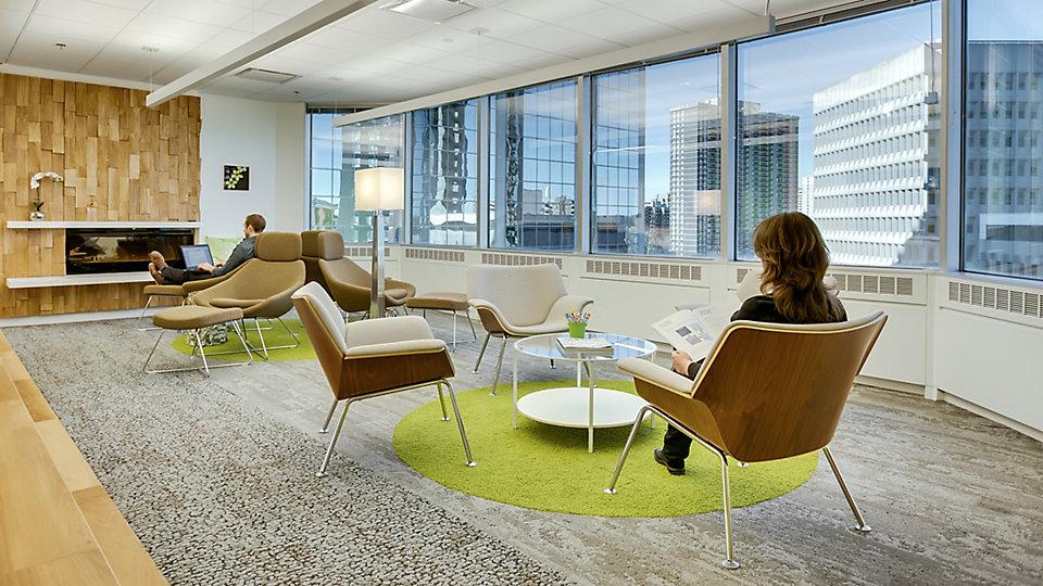 <b>Location</b> Meridian Financial, Toronto, ON &nbsp;&nbsp;<b>Interiors</b> Bullock + Wood Design &nbsp;&nbsp;<b>Collection</b> Human Nature &nbsp;&nbsp;<b>Product</b> HN810 &nbsp;&nbsp;<b>Color</b> 104222 Nickel &nbsp;&nbsp;<b>Product</b> HN840 &nbsp;&nbsp;<b>Color</b> 104214 Nickel &nbsp;&nbsp;<b>Product</b> HN830 &nbsp;&nbsp;<b>Color</b> 104242 Kiwi &nbsp;&nbsp;<b>Design</b> Bullock + Wood Design &nbsp;&nbsp;<b>Photo</b> ©Joaquim Santos