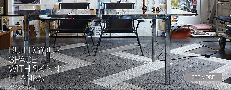 About Interface Commercial Modular Carpet Tile