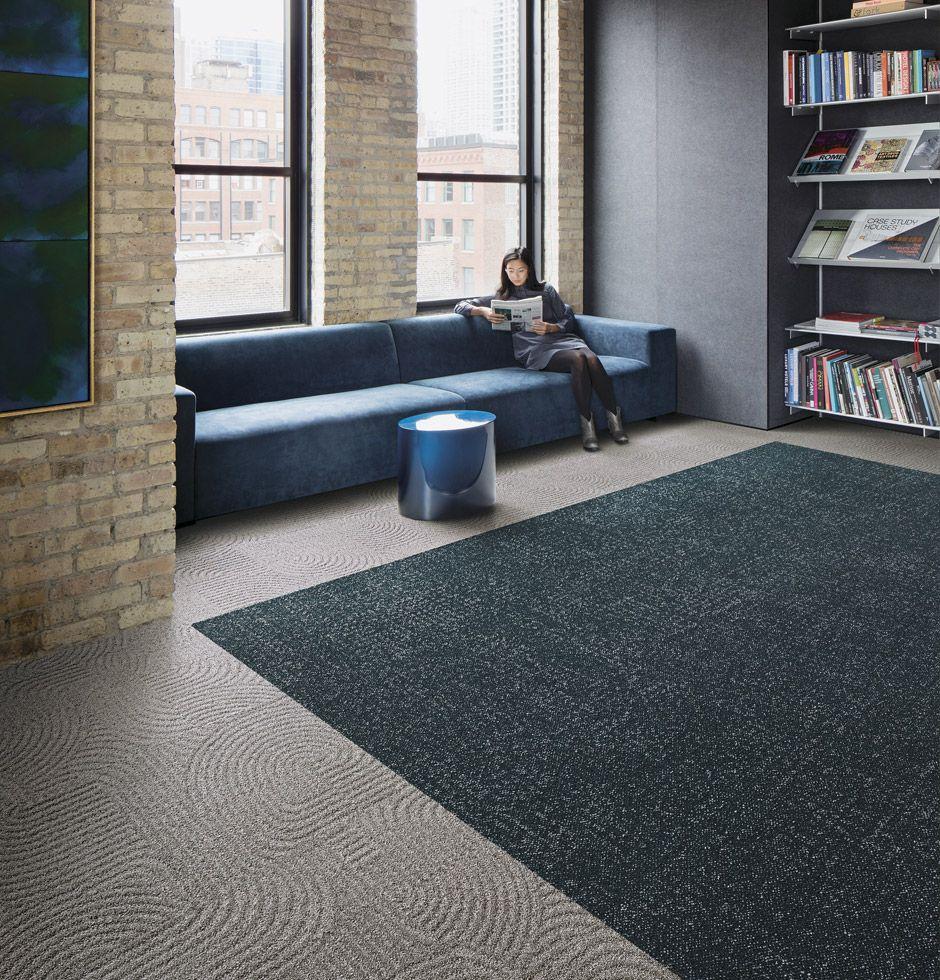 Commercial Carpet Tile Resilient Flooring Interface