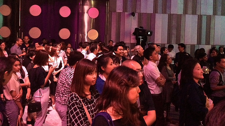 Architects and designers, media, end-users and friends from the industry were invited to the launch of Interface Hospitality in Asia.