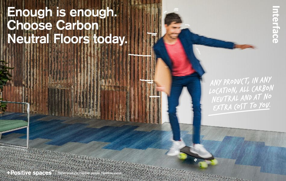 Enough is enough. Choose carbon neutral floors today