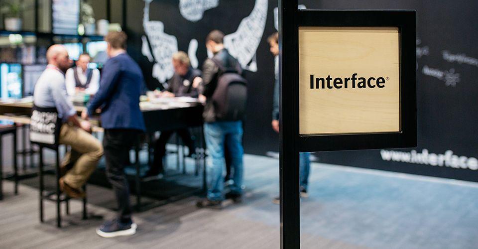 Interface auf der ORGATEC 2018