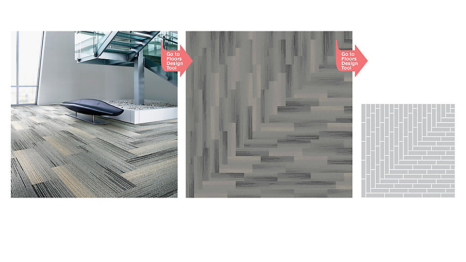 <b>Collection</b> Silver Linings &nbsp;&nbsp;<b>Product</b> SL930 &nbsp;&nbsp;<b>Color</b> 104527 Grey Fade &nbsp;&nbsp;<b>Installed</b> Pattern by Tile