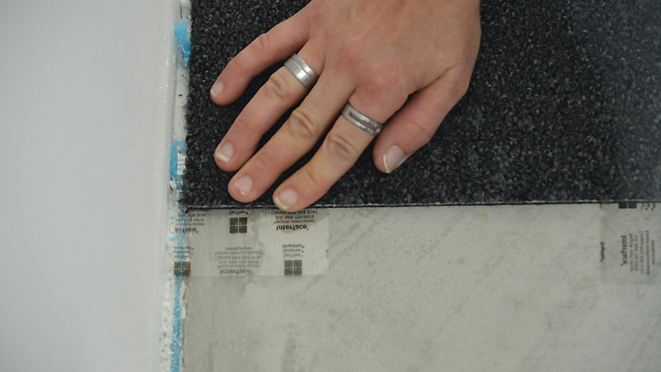 TacTiles can be used almost anywhere where carpet tile is used