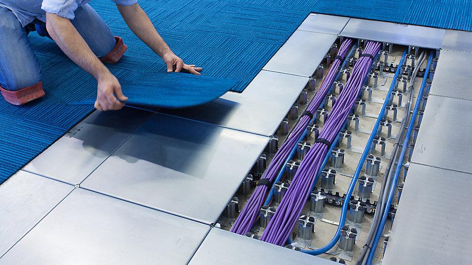 Intercell und Fußbodenheizung