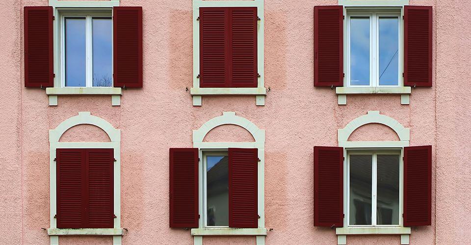 blush building front