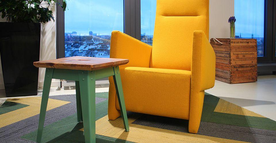 In der Facebook Breakout-Area 2 sorgt unsere Kollektion Urban Retreat Planks für ein gesundes Raumambiente.
