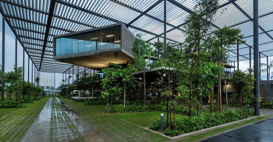 Paramit Factory: A Case Study in Industrial Biophilic Design - Human