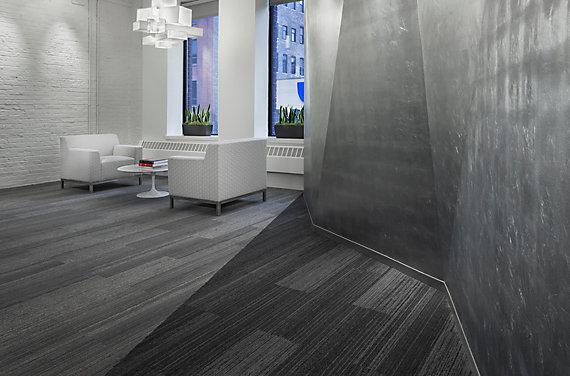 Modular Carpet Tile in Corporate Setting