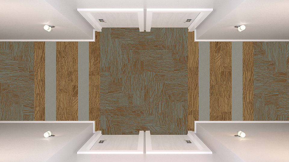 <b>Ivory to Caramel 14</b>   <b>Collection</b> Whole Earth   <b>Product</b> WE152   <b>Color</b> 104422 Toffee   <b>Installed</b> Ashlar   <b>Product</b> WE152   <b>Color</b> Custom   <b>Installed</b> Herringbone   <b>Product</b> On Line   <b>Color</b> 103791 Cloud   <b>Installed</b> Ashlar