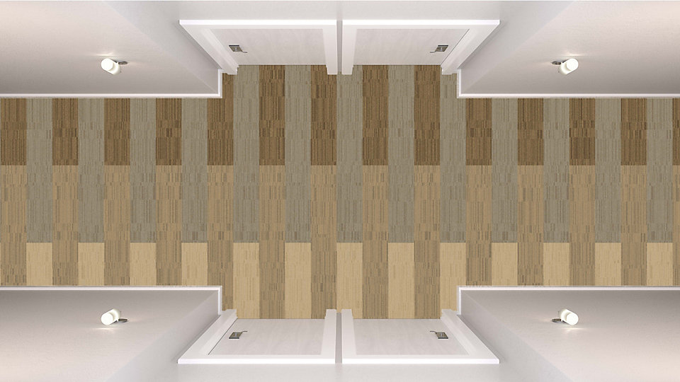 <b>Ivory to Caramel 23</b>   <b>Collection</b> Net Effect   <b>Product</b> B702   <b>Colors</b> Custom   <b>Installed</b> Pattern by Tile