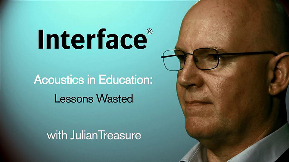 Julian Treasure explains why poor acoustics equals poor academic performance. -