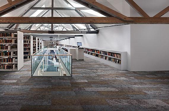 Modular Carpet Tile in Education Setting