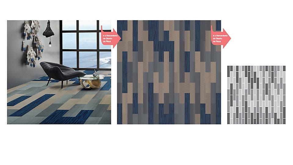 <b>Colección</b> Net Effect &nbsp;&nbsp;<b>Producto</b> B703 &nbsp;&nbsp;<b>Color</b> 103968 Driftwood, 103962 North Sea &nbsp;&nbsp;<b>Producto</b> B701 &nbsp;&nbsp;<b>Color</b> 102890 Pacific
