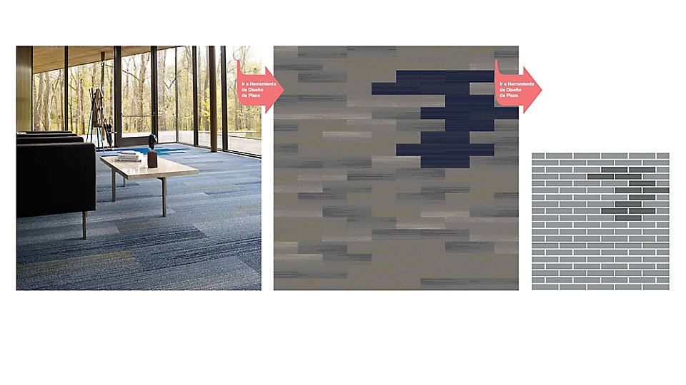 <b>Colección</b> Silver Linings &nbsp;&nbsp;<b>Producto</b> SL930 &nbsp;&nbsp;<b>Color</b> 104526 Nickel Fade &nbsp;&nbsp; <b>Producto</b> SL910 &nbsp;&nbsp;<b>Color</b> 104498 Navy &nbsp;&nbsp; <b>Instalado</b> Ashlar