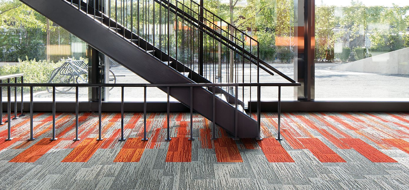 Commercial Carpet Tile Resilient Flooring Interface