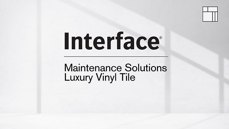 See how easy it is to maintain your Interface Luxury Vinyl Tile. -