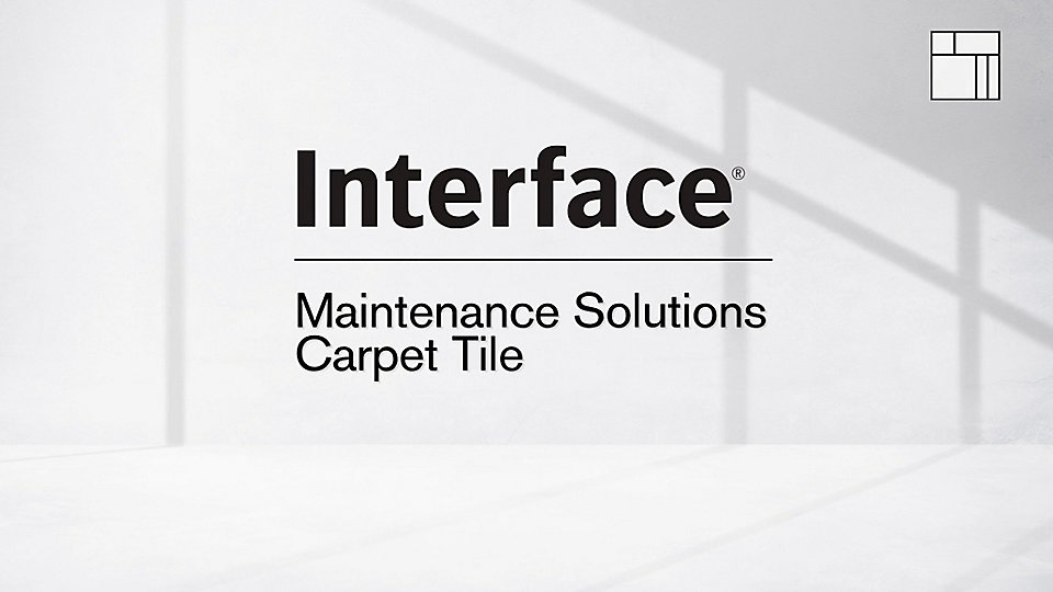 Overview of Interface carpet tile maintenance with videos covering each step. -