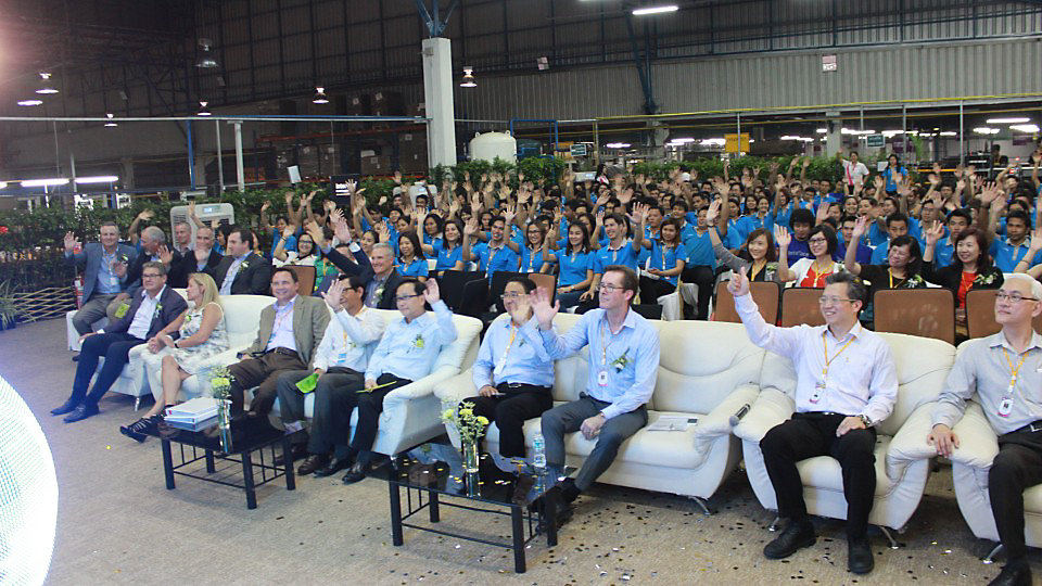 The ceremony was attended by Interface staff and friends from around Asia.