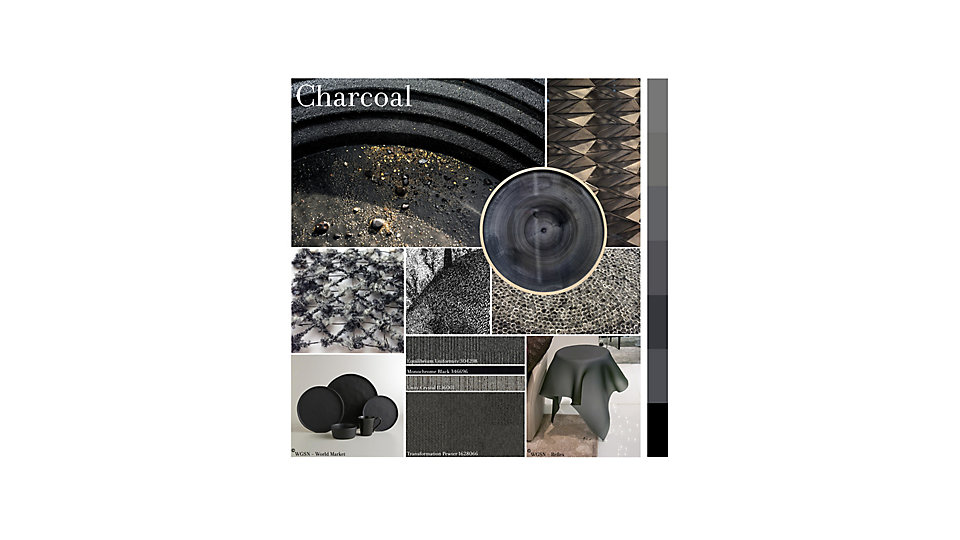 Colour of the Month November - Charcoal