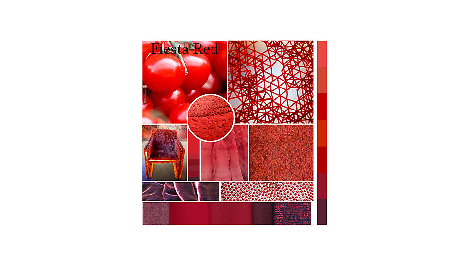 Colour of the Month September - Fiesta Red