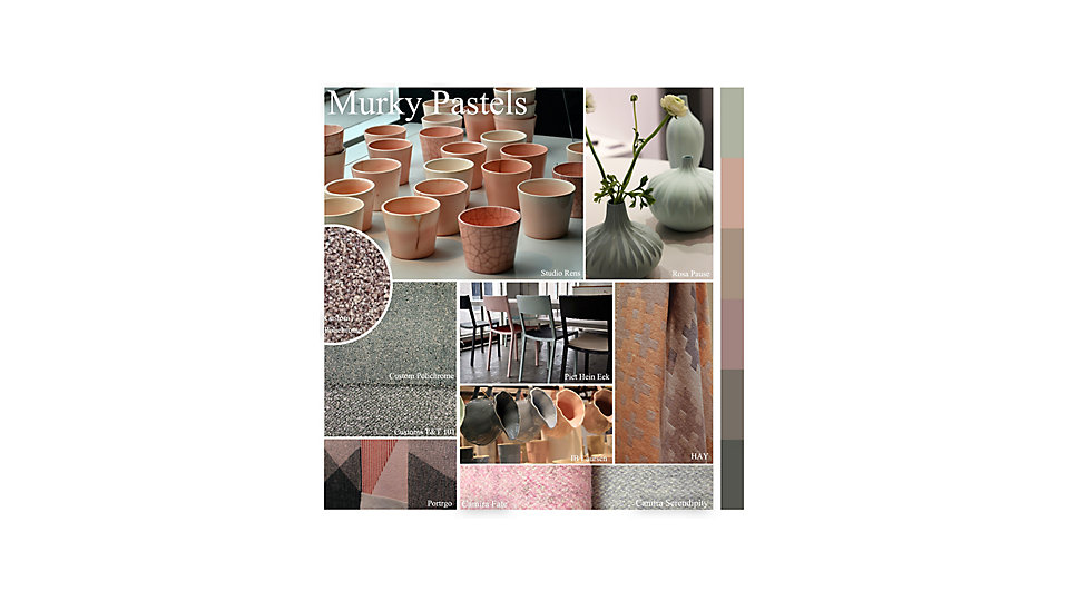 Colour of the Month October - Murky Pastels