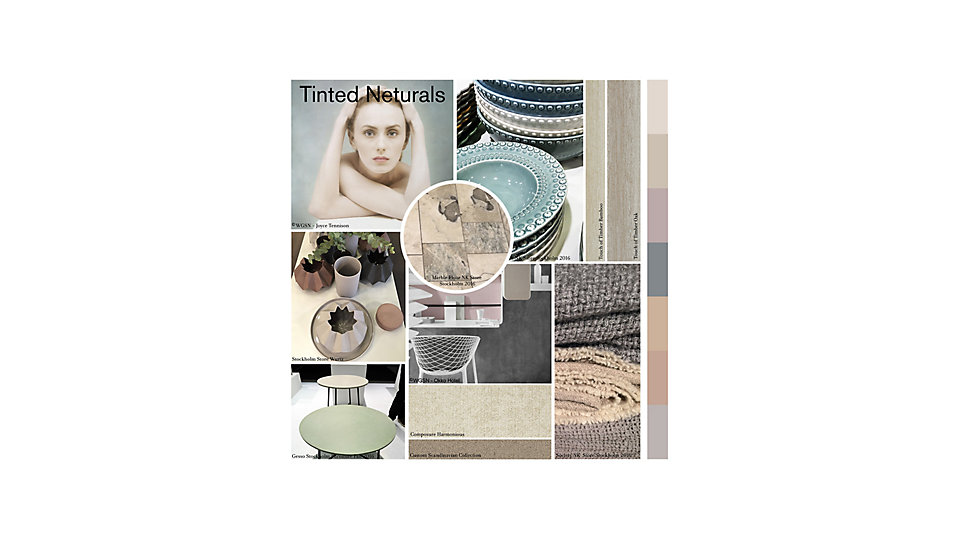 Colour of the Month March - Tinted Neutrals