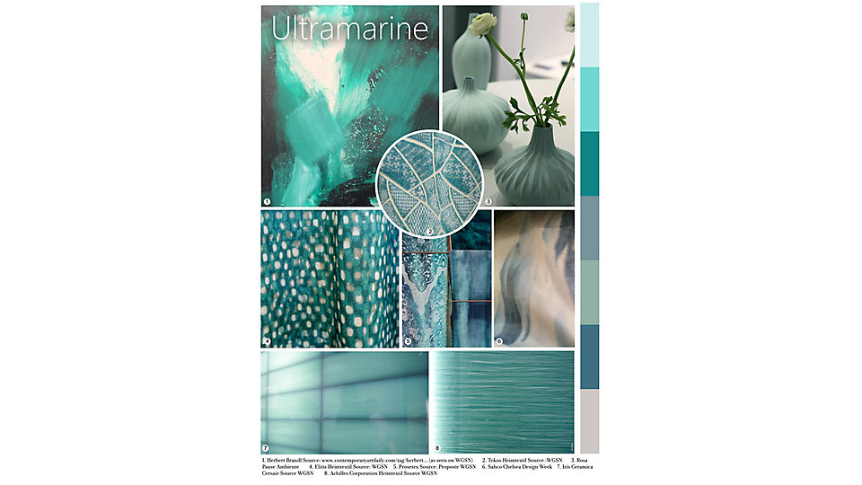 Colour of the Month April - Ultramarine