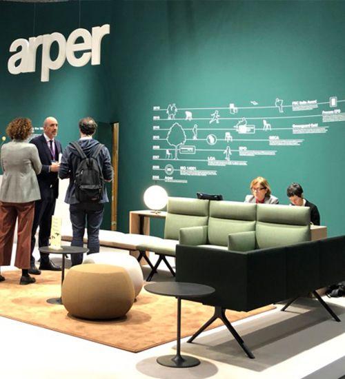 arper, Stockholm Furniture Fair 2020