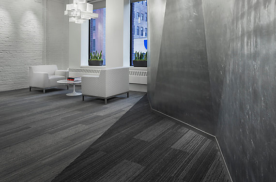 Modular Carpet Tile in Corporate Setting