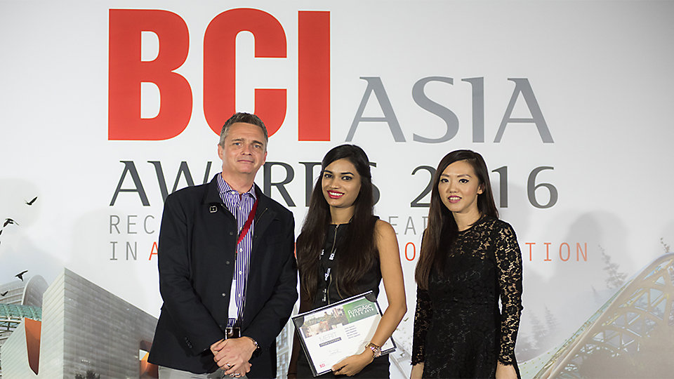 FuturArc Prize 2016 Awards Ceremony - BCI Asia Awards 2016