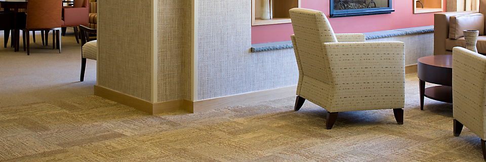 Modular Carpet Tile In Senior Living