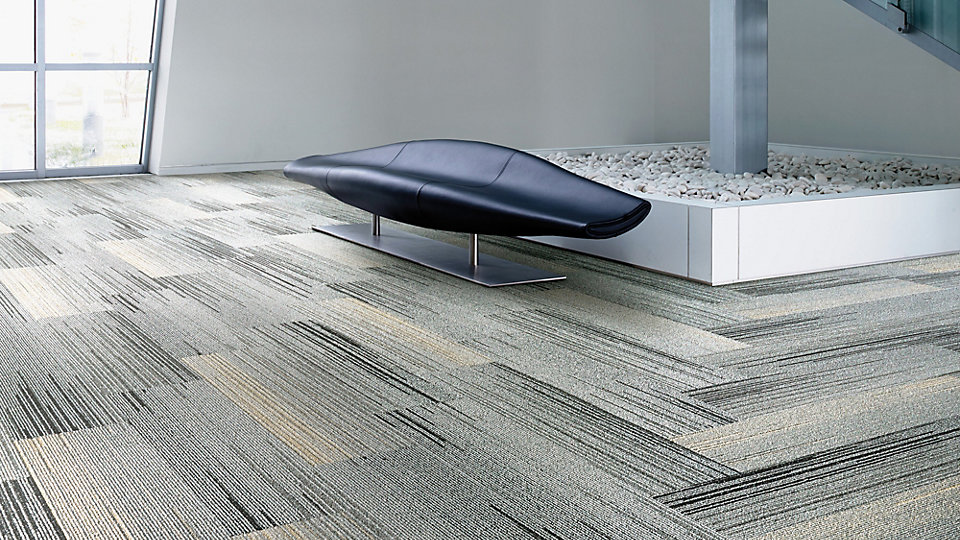 <b>Collection</b> Silver Linings   <b>Product</b> SL930   <b>Colour</b> Grey Fade   <b>Installed</b> Pattern by Tile